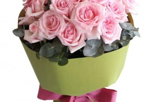 Maria Pink Rose Bouquet